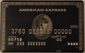 How to Get an American Express Black Card